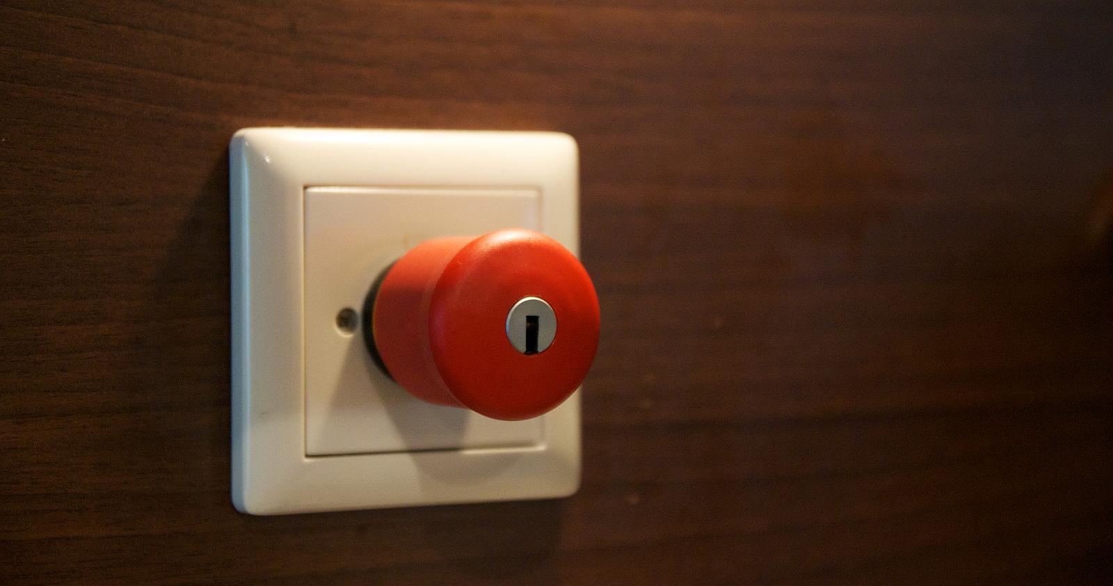 Referendar in Alarm-Bereitschaft: Mit dem Rücken zur Wand