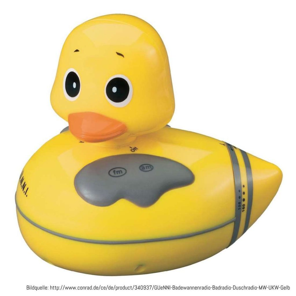 Platz 2: Günni die Ente