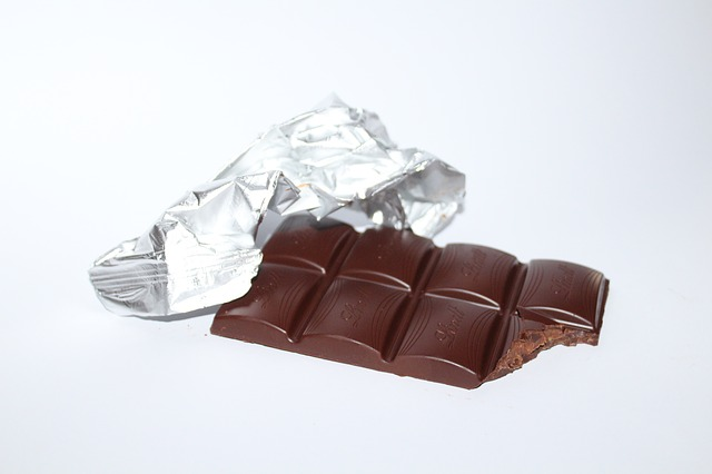 Platz 9: Tafel Schokolade