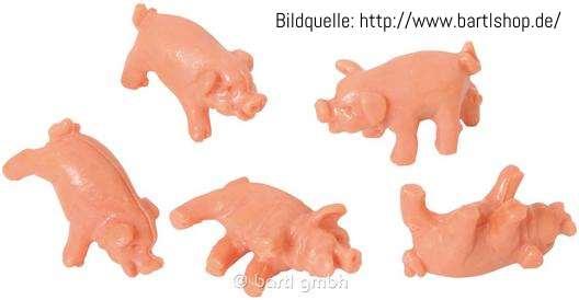 Platz 4: 30 Schweine