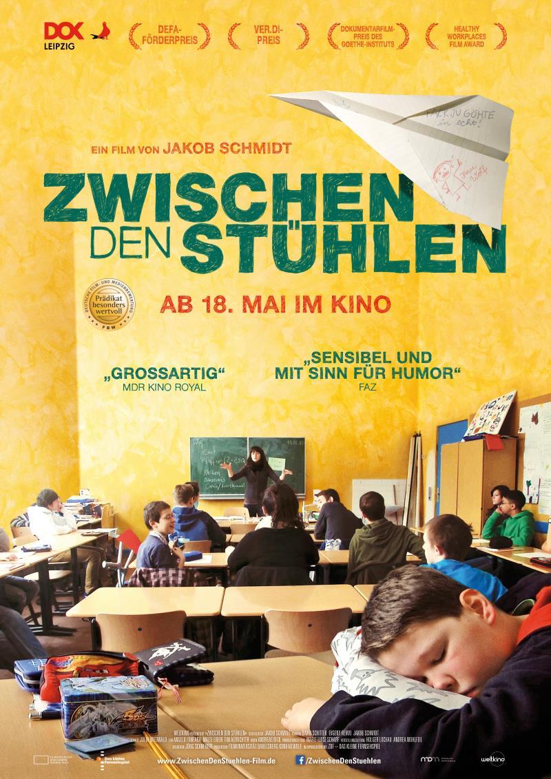 Filmplakat: Zwischen den Stühlen