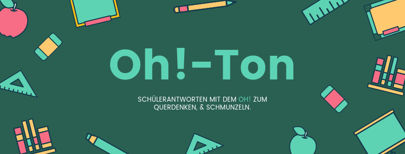 Oh!-Ton #1